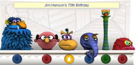 google doodle muppets