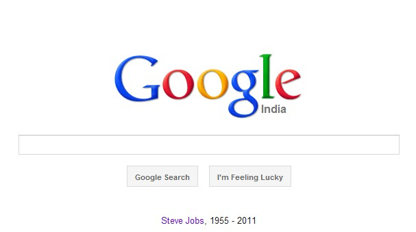 google tribute steve jobs