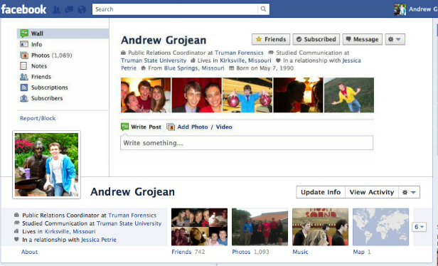 andrew creative facebook cover photo