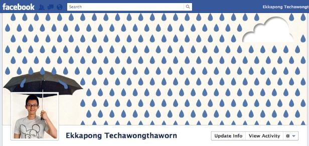 ekkapong creative facebook timeline cover