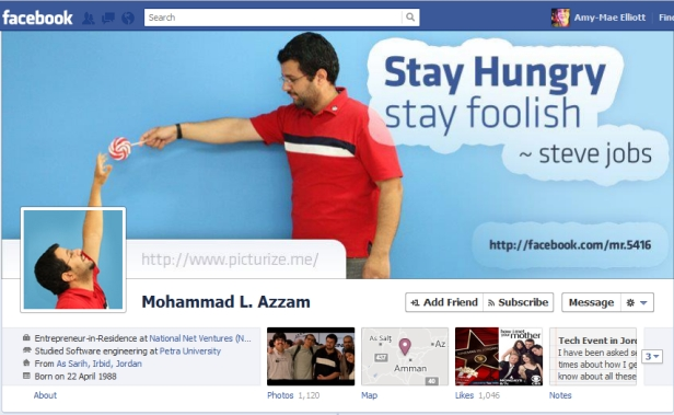 mohammad amazing facebook timeline cover