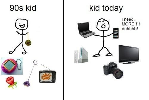 kid in 90 and 2000
