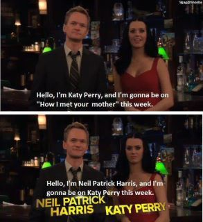 barney stinson kate perry