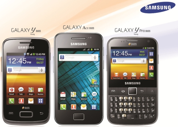 samsung dual sim phones