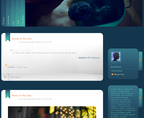 Top 20 Best Free Tumblr Themes - Youngblah