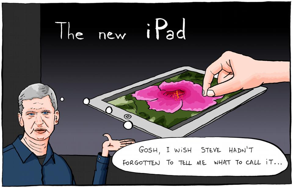 the new ipad comic