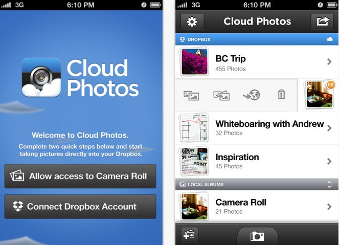 cloud photos  app