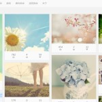 iphoto pinterest like wordpress theme