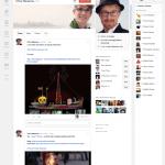 google plus timeline