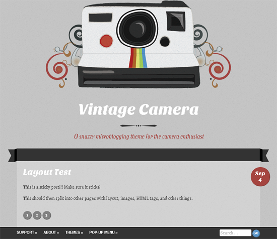 vintage-camera-wordpress-theme