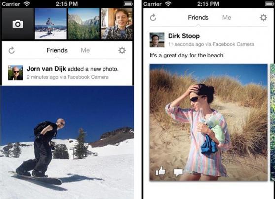 facebook camera app