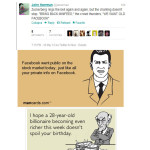 funny twitter reaction facebook ipo