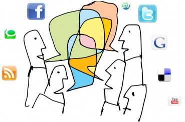 social media talking
