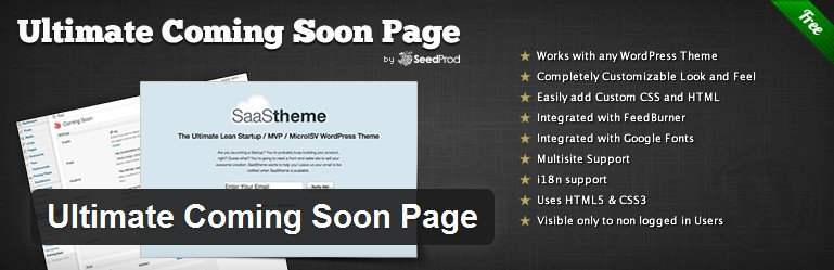 under construction or coming soon wordpress themes