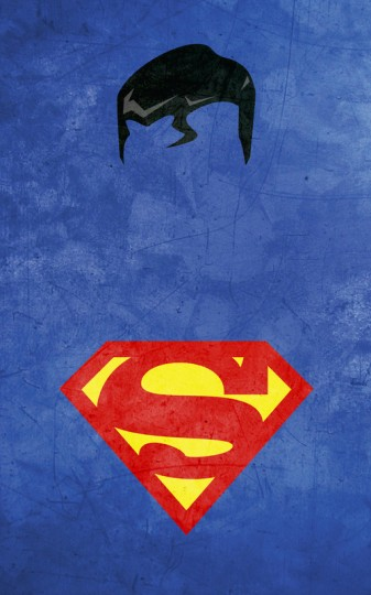 minimalist-superhero-posters iphone wallpaper