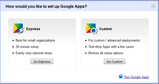 Google Apps Setup