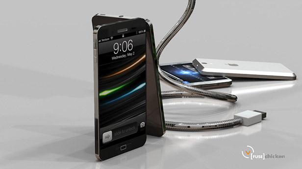 iPhone 5 Liquid Metal Concept