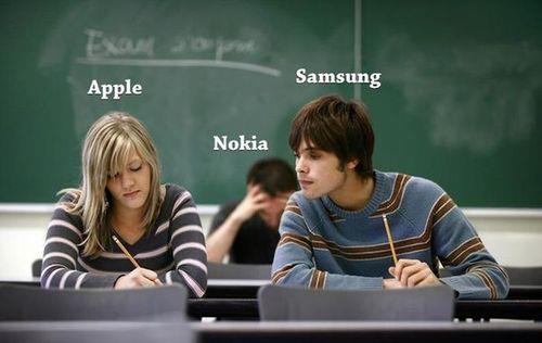 Apple Vs Samsung Vs Nokia