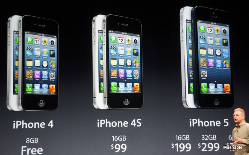 Apple iPhone 5 Pricing