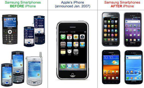 Samsung Copies Apple iPhones