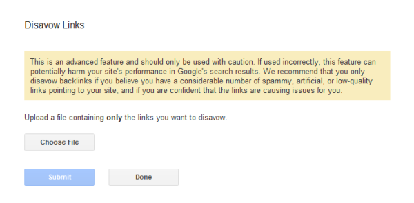 remove-bad-links Google