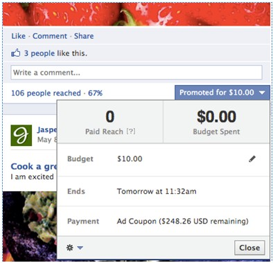 Create Promoted Posts on Facebook