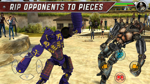 Real Steel iPhone Game