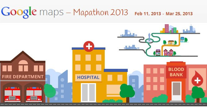 Google Mapathon 2013 India